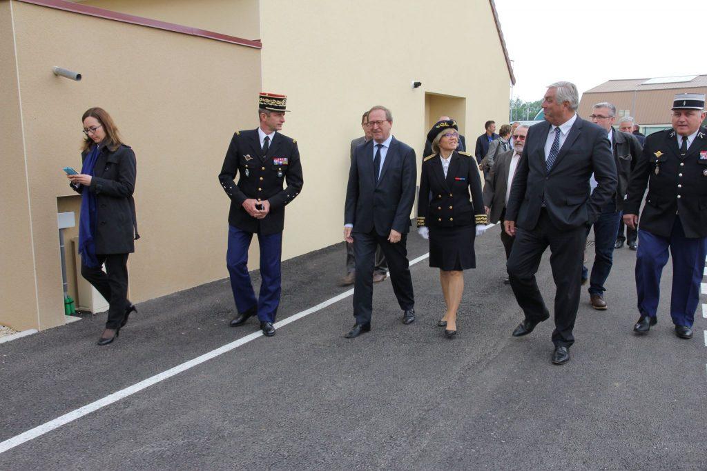 Inauguration Gendarmerie Genlis