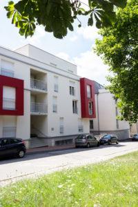 """Partie logements de la résidence """"les académies des ducs"""""""