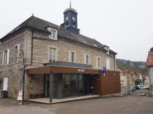 Vue du bâtiment communal- mairie