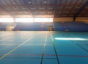 Nouvelle surface de jeu du Gymnase Jo Garret