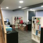 Open space avec les bureaux suite au changement d'adresse